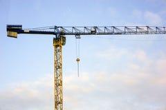 Budować Montażu żuraw zdjęcie royalty free