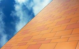 Budować Ściennych wzory, UCSD obraz stock