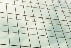 Budować pięknego szkło okno. Zdjęcie Royalty Free