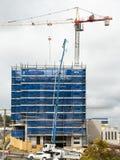 Budować postęp 122 Przy 47 Beane St Gosford Wrzesień 2018 zdjęcie stock