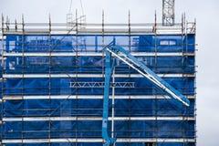 Budować postęp 127 Przy 47 Beane St Gosford Wrzesień 2018 zdjęcie stock