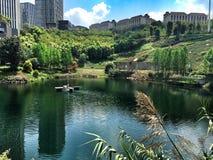 Budować przy Chongqing fotografia stock