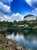 Budować przy Chongqing obraz royalty free