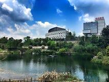 Budować przy Chongqing zdjęcia royalty free