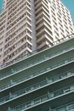 Budować simetric architekturę zdjęcie royalty free