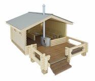 Budować skąpania w sekci świadczenia 3 d Fotografia Stock