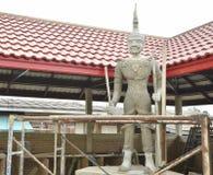 Budować Tajlandzką strażową statuę Obrazy Stock