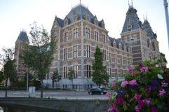 Budować W Amsterdam obrazy royalty free