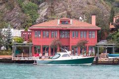 Budować w Bosphorus cieśninie Fotografia Royalty Free