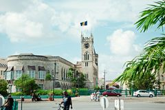 Budować w kapitale wyspa Barbados obrazy stock
