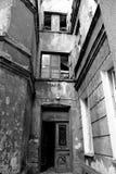 Budować w slamsy okręgu - schody Obrazy Stock