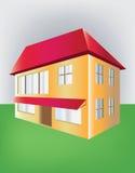 Budować z dwa podłoga Fotografia Stock
