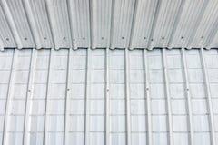 Budować z metali prześcieradłami zdjęcie stock
