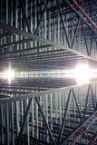 budowa abstrakcjonistyczny metal Zdjęcie Stock