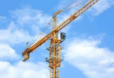 Budowa basztowy żuraw Obrazy Stock