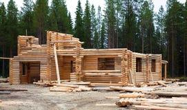 Budowa bela domy obraz royalty free