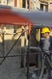 Budowa bezwolny dom Zdjęcia Stock