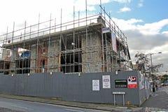 Budowa budynek mieszkalny Obraz Stock