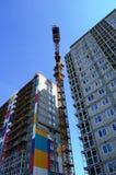 Budowa budynek mieszkalny Zdjęcie Royalty Free