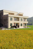 Budowa budynek mieszkalny w wiejskim Chiny Zdjęcie Royalty Free