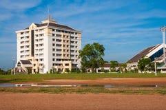 Budować centrum uniwersyteta Obraz Stock