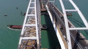 Budowa Crimea most na Kwietniu 26, 2018 zbiory