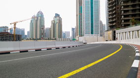Budowa czasu upływ od Dubai marina terenu zbiory wideo
