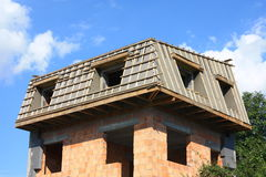 budowa dach Fotografia Royalty Free