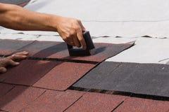 budowa dach Obrazy Royalty Free