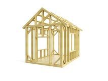 budowa dom Zdjęcie Royalty Free