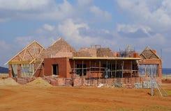 budowa domu Zdjęcie Stock