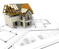 budowa domu ilustracja wektor