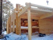 Budowa domy Zdjęcie Stock