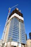 budowa drapacz chmur Zdjęcie Royalty Free