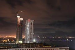 Budowa drapaczy chmur budynki Zdjęcie Stock