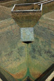 Budowa drenażu wody filtracja Obrazy Royalty Free