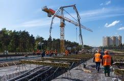 Budowa drogi Obraz Stock