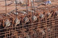 budowa Dubaju zdjęcie royalty free