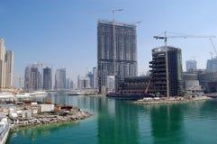 budowa Dubaju obrazy royalty free