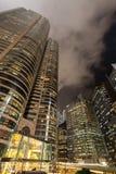 Budować Dwa Wekslowego kwadrat w Hong Kong Fotografia Stock