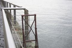 Budowa enbankment fotografia royalty free