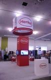 Budować Henkel budka przy SID 2015 Fotografia Royalty Free