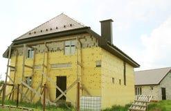 Budowa i odświeżanie dom Fotografia Royalty Free