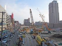 budowa japończyk zdjęcia royalty free