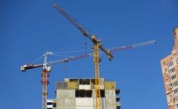 Budowa kondygnacja budynek Obrazy Royalty Free