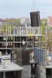 Budowa kondygnacja budynek Obrazy Stock