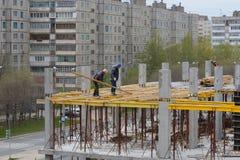 Budowa kondygnacja budynek Zdjęcia Stock