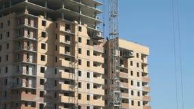Budowa mieszkanie budynek mieszkalny zbiory wideo