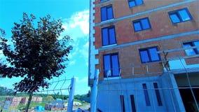 Budowa mieszkanie dom, mały mieszkaniowy kompleks zbiory