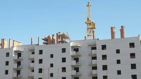 Budowa mieszkanie mieszkaniowy kompleks zbiory wideo
